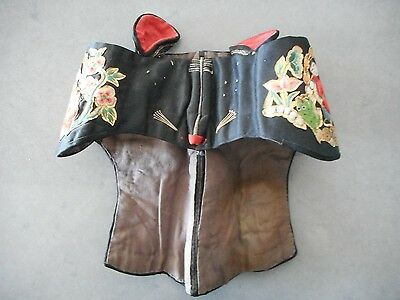 Antique Silk Chinese Hat Ex Textile Museum Toronto Mouse