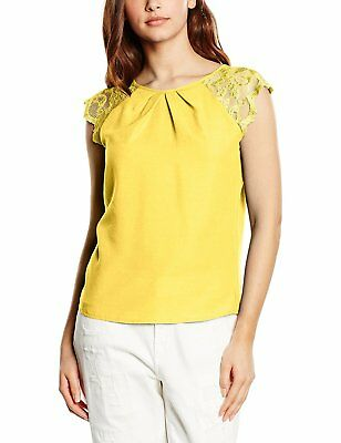 [TG.XL] Hot Squash Lace Sleeved Crepe, Top Donna