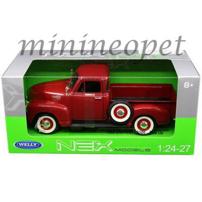 Welly 22087 1953 Chevrolet 3100 Pick Up Truck 1/24 Diecast Model Red