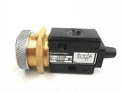 Norgren 03041402 Super X In-Line Valve Linear Directional Push Button Air