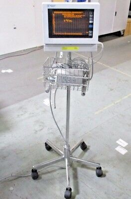 SpaceLabs Medical 90309 Patient Monitor With Stand And Power Supply 119-0251-01
