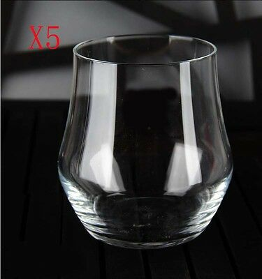 New 5X Capacity 380ML Height 95MM Lead Free Cocktail Wine Glass/Glassware %