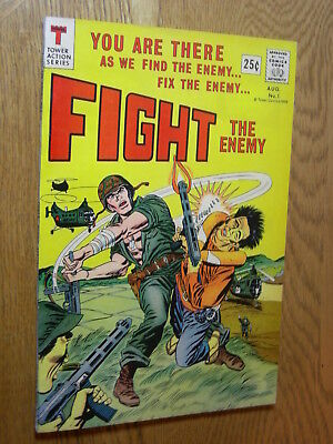 Fight the enemy #1 VG whack the enemy