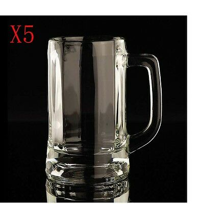 New 5X Capacity 640ML Height 180MM Thick Bottom Beer Wine Glass/Glassware %