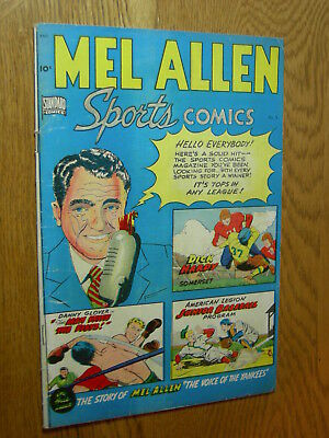 Mel Allen Sports Comics #5 G/VG tops in any league