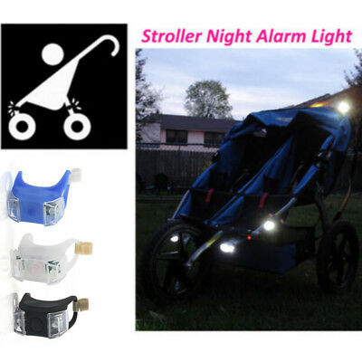 1X Night Remind Baby Stroller Light Baby Safe Care Waterproof Flash Caution Lamp
