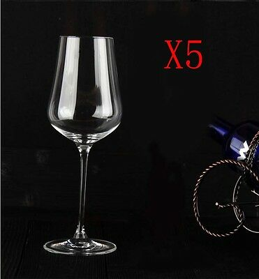 New 5X Capacity 575ML Height 262MM High Foot White Wine Glass/Glassware %