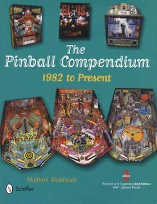 Vintage Pinball Compendium Collector Guide 1982-Today incl Bally Gottlieb Others