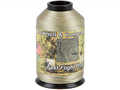 Brownell Sehnengarn Fast Flight Plus bronze Bogensehne Bogensport 1/4 lbs
