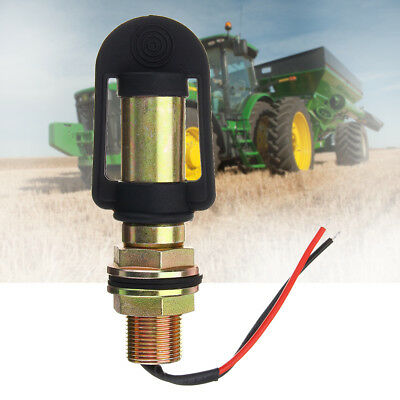 Amber Rotating Flashing Beacon Flexible DIN Pole Tractor Mount Mounting Light