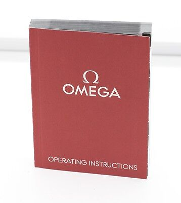 Genuine Omega Operating Instructions Manual 1/20