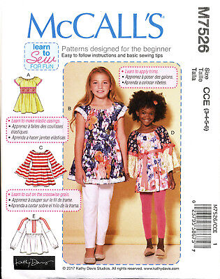 UNCIRCULATED McCALL/'S #7526 LADIES SCHOOL GIRL STYLE SKIRT PATTERN  4-18 FF