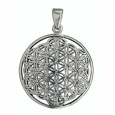 4,5g Solid 925 Sterling Silver Celtic Flower of Life Timeless BELDIAMO Pendant