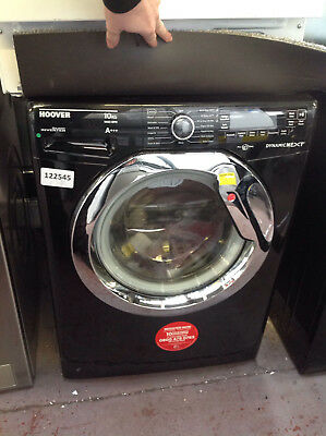 *Hoover Washing Machine, DXP410AIB3, 10kg load with 1400 rpm - Black #122545