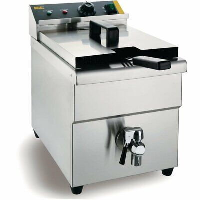 Buffalo Single Tank Single Basket Induction Fryer - CP793  Catering Commercial