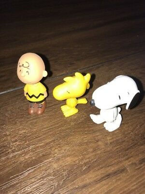 Peanuts Schleich - Snoopy 22001 - Woodstock 22012 - Charlie Brown 22007 - Top