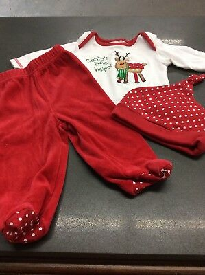 Babyworks 3 Piece Christmas Outfit