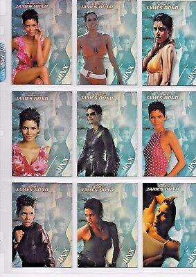 James Bond Women In Motion Jinx Chase Cards   J1 To J9     9 Card Set
