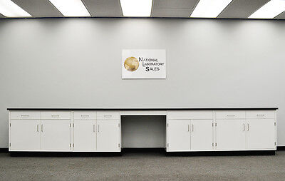 -17′ Fisher Base Laboratory Furniture / Cabinets / Case Work / Benches / Tops..