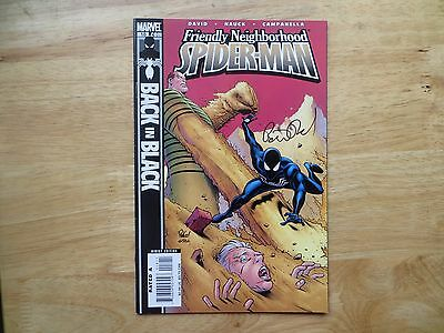 2007 Friendly Neighborhood Spider-Man #18 Sandman Signed By Peter David,with Poa