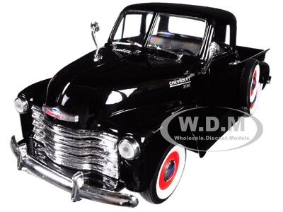 1953 Chevrolet 3100 Pick Up Truck Black 1:24-1:27 Diecast Model By Welly 22087