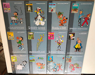 Lot 12 Bd Tresors Bande Dessinee ¤ Spirou/iznogoud/gaston/cubitus/talon ¤ Tbe