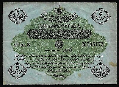 5 Piastres From Turkey MM11