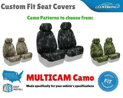 MULTICAM CAMO CUSTOM FIT SEAT COVERS for NISSAN LEAF