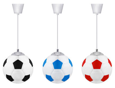 Modern FOOTBALL Ceiling Pendant Hanging Light Shade Club Games Children Light