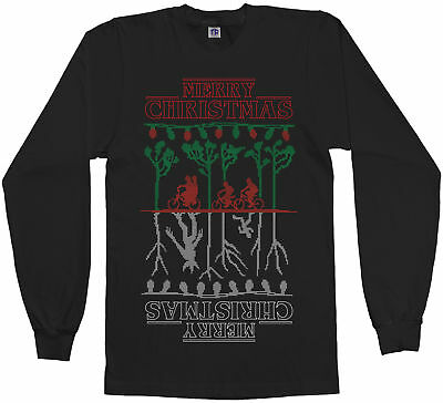 Mens Stranger Things Ugly Holiday Light Up Sweater Red Xxl New W