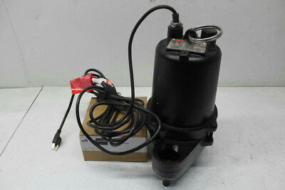 Dayton 3BB87 4/10 HP Automatic Submersible Sewage Pump
