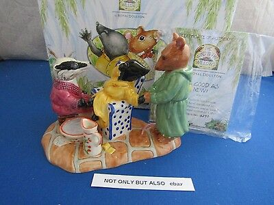 Royal Doulton Clearance As Good As New Badger Ratty Mole Wind In The Willows