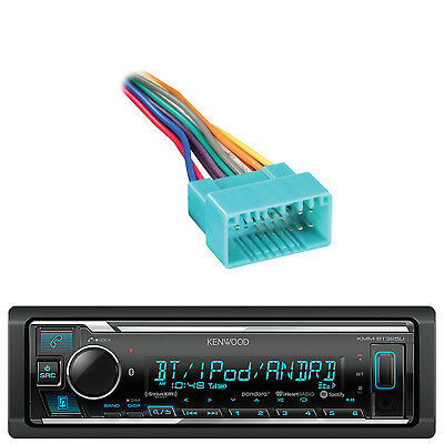 Kenwood Car Built in Bluetooth USB AUX Radio,Metra 70-1721 Bypass Wiring Harness