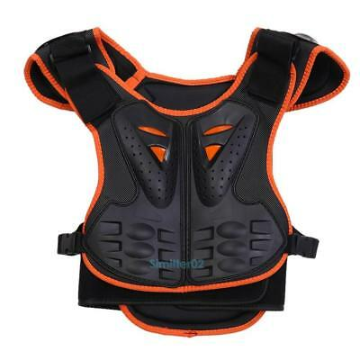 Child Kid Motorcycle Vest Guard Chest Protector ATV Dirt Bike Bicycle Body Armor