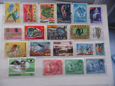 nickstampshop ~~ Ghana ~ Mixed Used ~ Lot 1