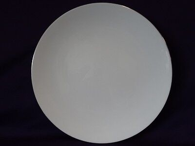 Royal Worcester China Snow Platinum Z2699/2 Dinner Plate 10-1/2""