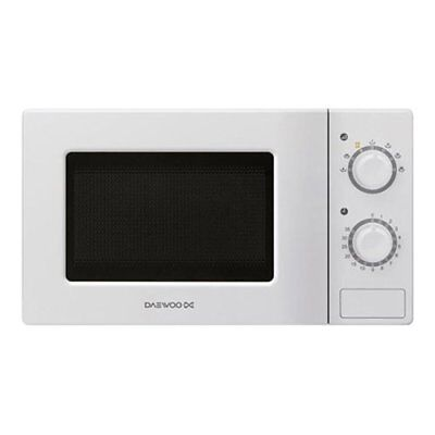 Daewoo KOR-6L77 700 Watt 20 Litre Microwave Oven With 5 Power Levels - White