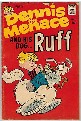 Dennis The Menace And His Dog Ruff #1 1961 Early Silver Age First Issue!
