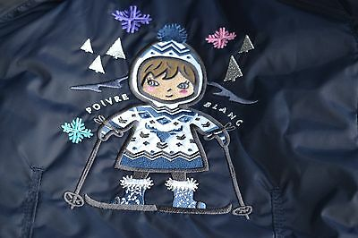 New Authentic Girls Poivre Blanc Ski Jacket Age 3 Years