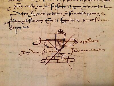 MEDIEVAL DOCUMENT 1468                                16 pages