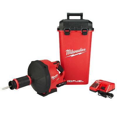 Milwaukee 2772A-20 18-Volt 5/16-Inch x 35-Foot Cordless Drain Snake - Bare Tool