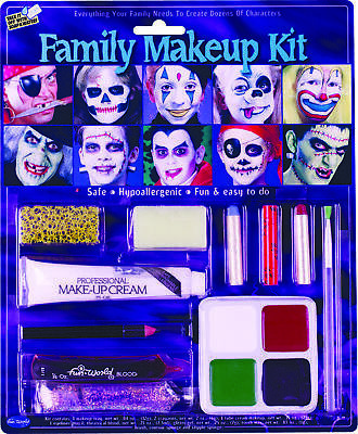 Family Makeup Kit  Costume Accessories