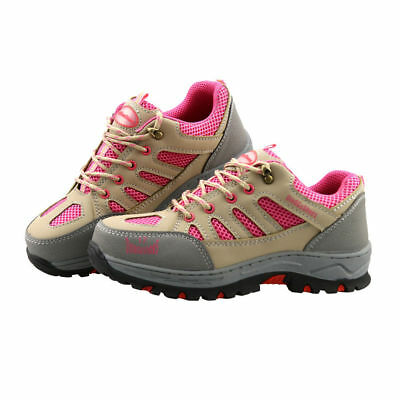 c8dc2ddc1d5 WOMEN'S CONSTRUCTION BREATHABLE Working Safety Shoes Steel Toe Sole Work  Boots