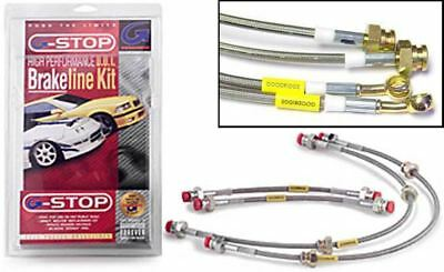 Goodridge CLG Braided Brake Hoses fit Suzuki SC100