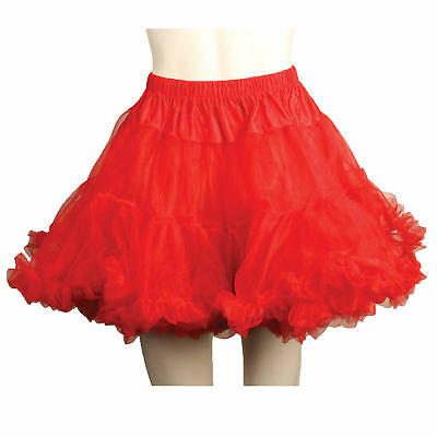 Petticoat Tulle Layered Red  Costume Accessories