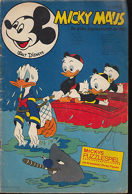 Micky Maus Nr. 18 1970 ohne Beilage
