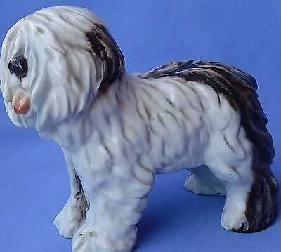"1930 Old English Sheepdog 7"" Cacciapuoti Italy"