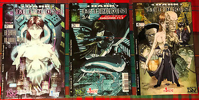 LOT DARK MINDS - n°-2-3-4 - GENERATION COMICS