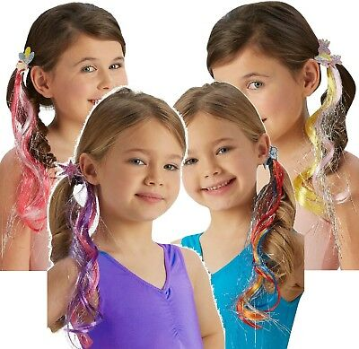 Girls My little Pony Official Hair Clip Instant Fancy Dress Costume Outfit Kit