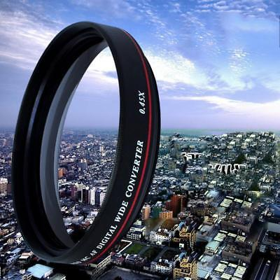 ZOMEI 58mm Ultra Slim Wide Angle Filter Lens for SLR Camera Optical Glass